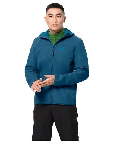 Jack Wolfskin Jack Wolfskin Northern Point Erkek Outdoor Softshell Mont 1304001-1350 1304001-1350018 Lacivert
